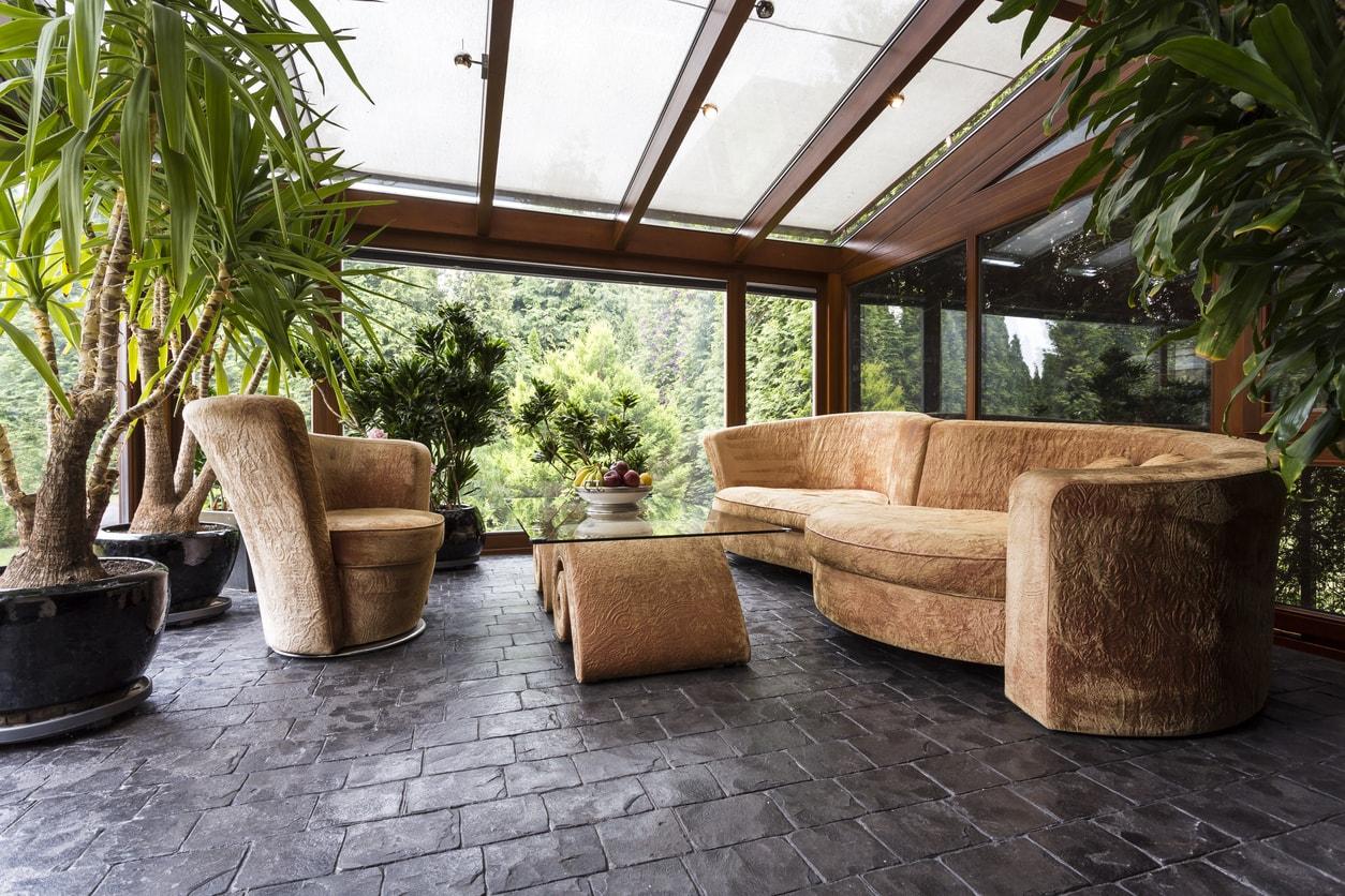 full florida style sunroom